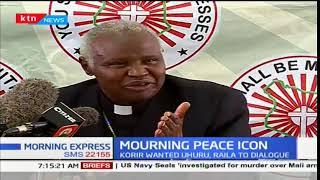 Life and times of the peace maker, Eldoret Catholic Diocese Bishop Cornelius Korir