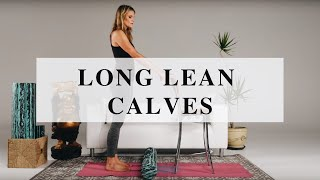 Foam Rolling Sequence for Long and Lean Calves by BE Aligned x Lauren Roxburgh
