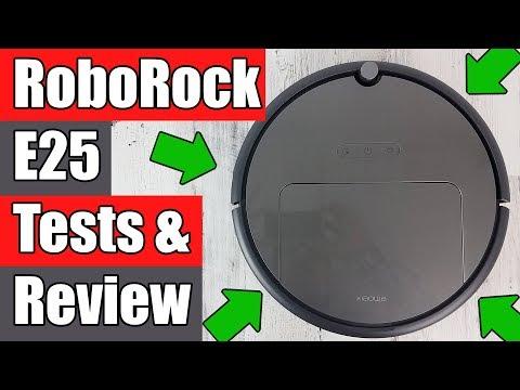 RoboRock E25 REVIEW Robot Vacuum Cleaner / Mop
