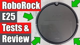 RoboRock E25 REVIEW Robot Vacuum Cleaner / Mop