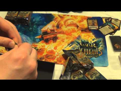 World of Warcraft TCG: War Of The Elements Unboxing