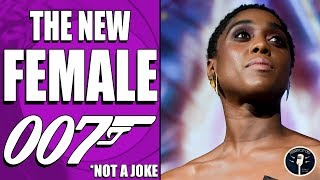The New 007 is a Black Woman. Yas Queen