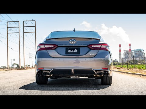 2018 2021 toyota camry xse cat back exhaust system s type part 140823bc