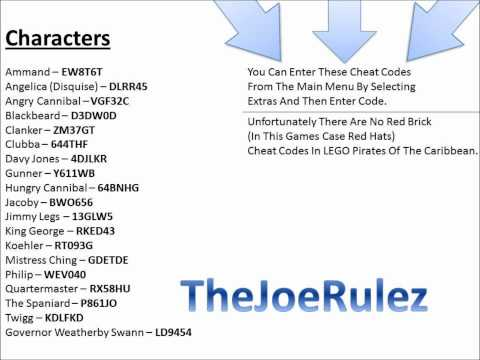 Red Hat Cheat Codes Lego Pirates Mistercuddlz Video Free