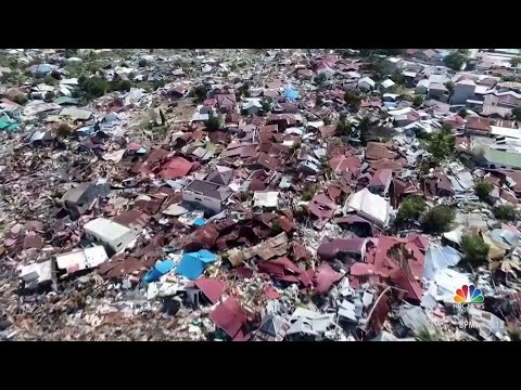 Desperate Search For Survivors After Indonesia Earthquake And Tsunami | NBC Nightly News