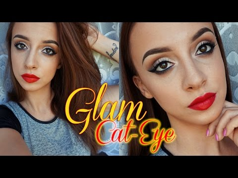 QUICK&EASY Glamorous Cat Eye & Red Lip Tutorial