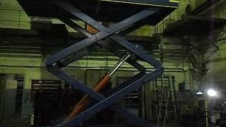 Гидравлический подъемный стол Energopole от компании Ивановский Александр - видео