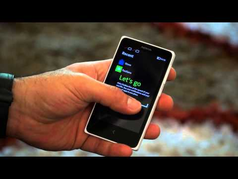 Nokia X Dual Sim Android 4 Smartphone, Hands on Review and Box