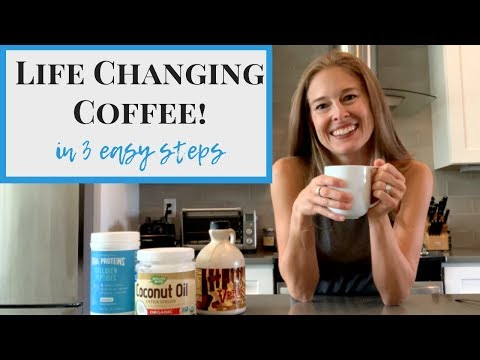 Life Changing Coffee! - The Best Coffee with Coconut Oil