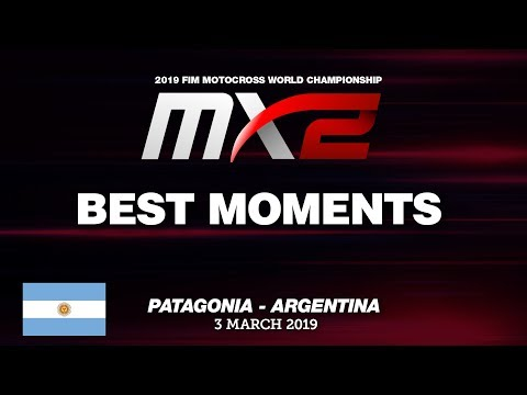 Best Moments MX2 - MXGP of Patagonia - Argentina 2019 #Motocross