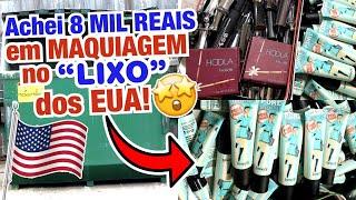 ACHEI 8 MIL REAIS EM MAKES DE LUXO NO LIXO DOS ESTADOS UNIDOS 😱😍💖🙌🏼 PARTE2