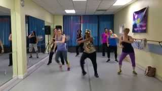 6 AM by J. Balvin -Reggaeton Routine for Zumba Fitness