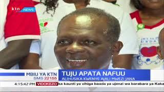 Raphael Tuju aongea na wanahabari kwa mara ya kwanza tangu ajali yake; asema anaendelea kupata nafuu