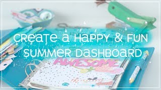 Create a Fun & Happy Summer Dashboard