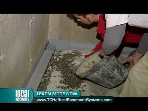 In business since 1991, Tony Hafford explains the necessary steps towards a dry basement and a healthier living environment. For crawlspaces, TC Hafford Basement Systems also offers a unique encapsulation product called CleanSpace.