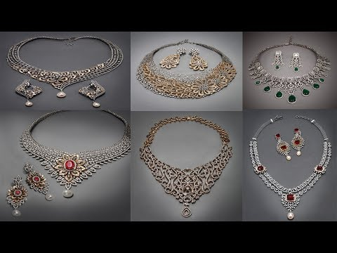 New Diamond Necklace Designs with price Beautiful Diamond Necklace Tanishq Red Carpet Collection
