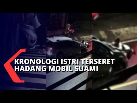 Viral! Diduga Istri Anggota DPRD Terseret Hadang Mobil Suami, Ini Kronologi Kejadiannya