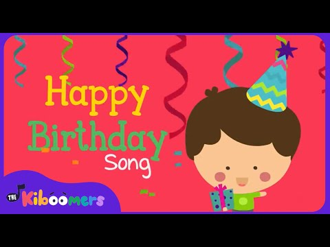 Download Happy Birthday Song | Happy Birthday To You Song for Kids | The Kiboomers HD Mp4 3GP Video and MP3