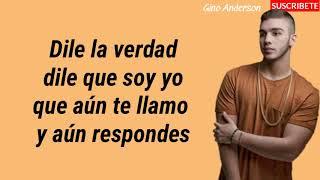 Dile La Verdad (letra) Jowell Y Randy Ft. Manuel Turizo