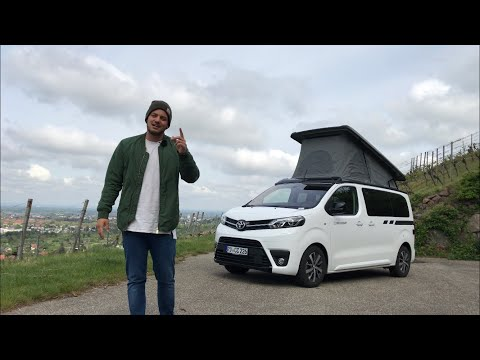 2019 Crosscamp - Camping-Van auf Toyota Proace Verso Basis ⛺️🚐 | Fahrbericht | Review | Test-Drive.