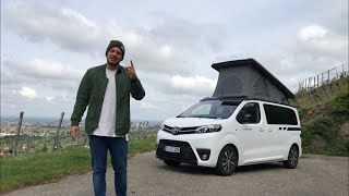 2019 Crosscamp   Camping Van Auf Toyota Proace Verso Basis ⛺️🚐 | Fahrbericht | Review | Test Drive.