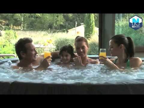 Spa hinchable Vita Premium 4 adultos y 2 niños NetSpa