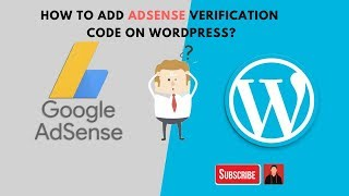 How to add AdSense verification code on WordPress