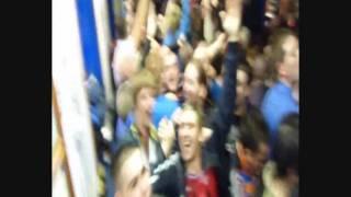 Rangers Fans Celebrate Edu Goal V. Celtic In Louden Tavern