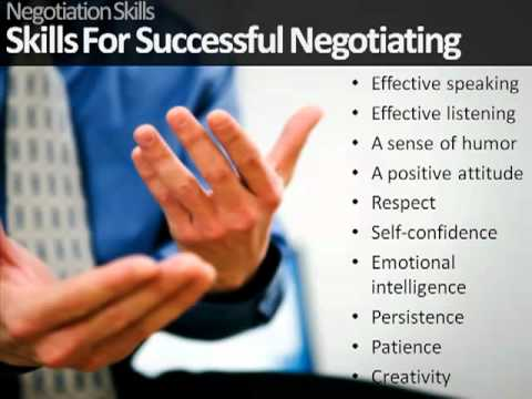 Understanding Negotiations with Negotiation Training Courses ...