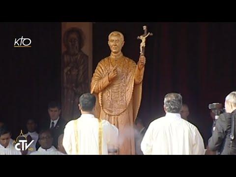 Messe et canonisation de Joseph Vaz