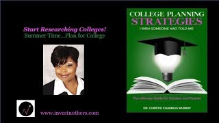 Start Researching Colleges Part I