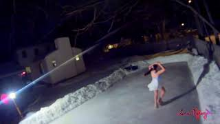 Skate 3 : Backyard Rink : FPV : Skated
