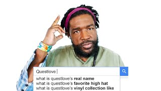 Questlove Answers the Web's Most Searched Questions | WIRED