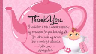 What To Say In A Baby Shower Card