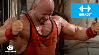 Branch Warren's Chest Workout for Mass | 2010 Road to the Olympia by Bodybuilding.com