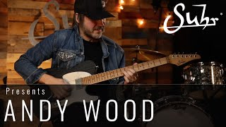 """Andy Wood performs a solo from his song """"Imagine Love"""", Live at the SUHR factory."""