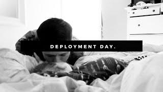 DEPLOYMENT DAY | MILITARY DEPLOYMENT | SAYING GOODBYE TO DADA | SammyBird