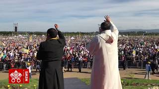2018.01.17 Pope Francis in Chile - Holy Mass in Temuco