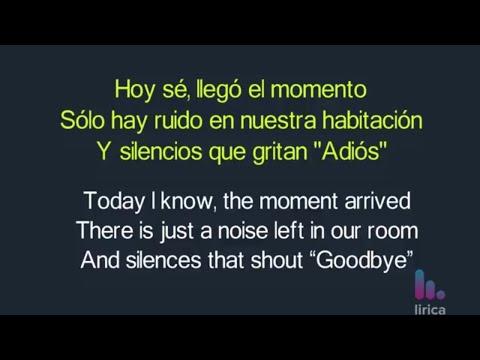 Maluma - Marinero Lyrics English and Spanish - Translation & Subtitles
