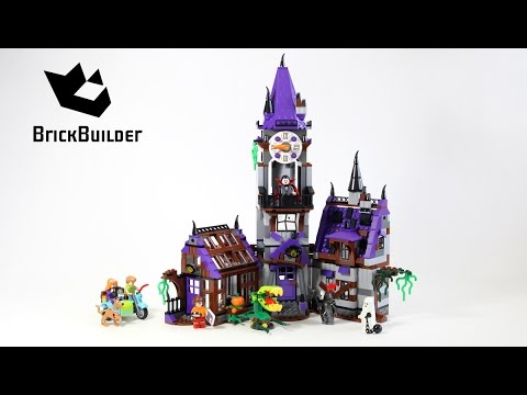 Vidéo LEGO Scooby-doo 75904 : La maison mystérieuse
