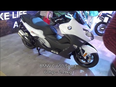 BMW C 650 Sport scooter (2017)