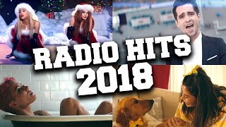 Top 65 Songs that You Hear Every Day on the Radio 2018 - December