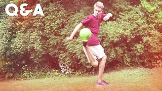 AWESOME FOOTBALL SKILLS! - (Q&A Funday)