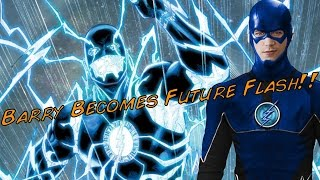 BARRY BECOMES FUTURE BLUE FLASH!! The Flash Season 3 Episode 10 Crazy WTF!? Theory!!