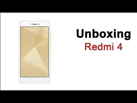 Redmi 4 Unboxig