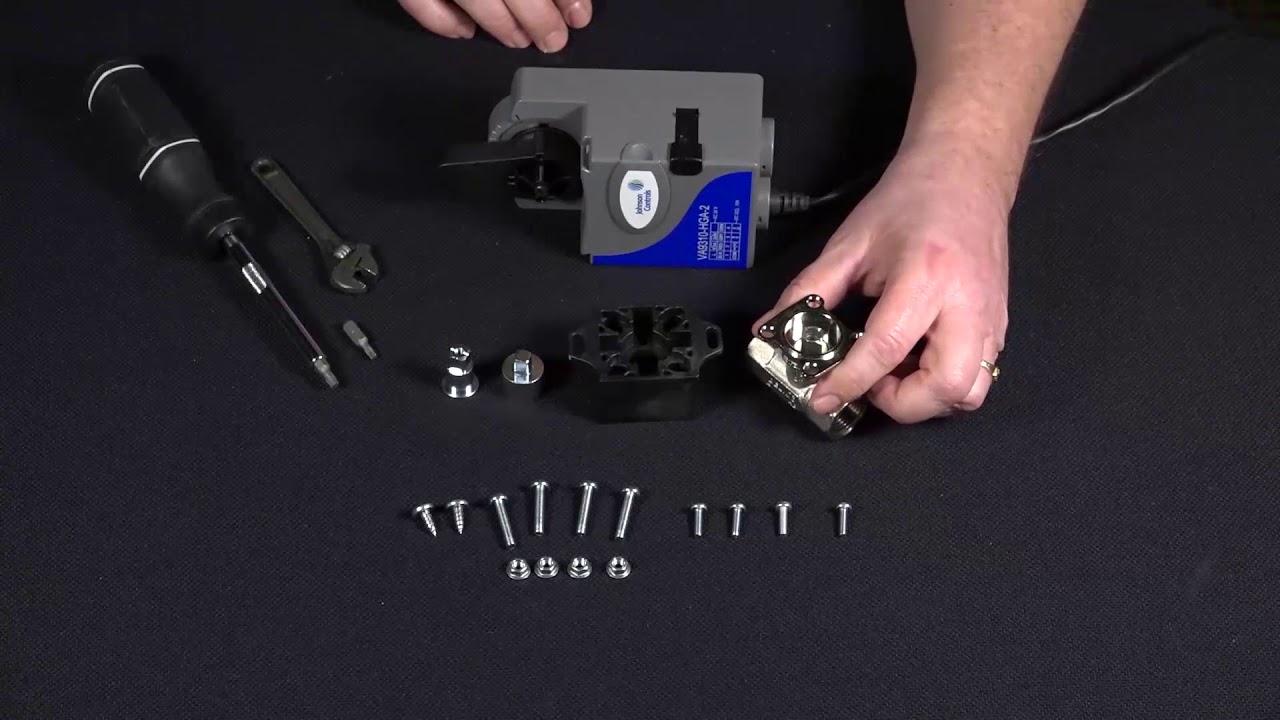How to Install a Johnson Controls Universal Ball Valve Linkage Kit