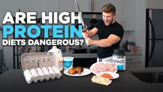 High Protein Diets Cause Bone Loss and Kidney Damage? (MYTH BUSTED with science!)