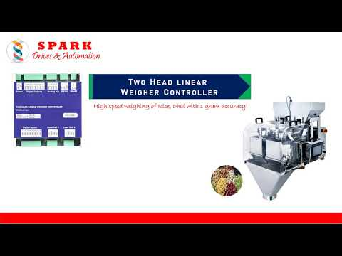 Two Head Linear Weigher Controller