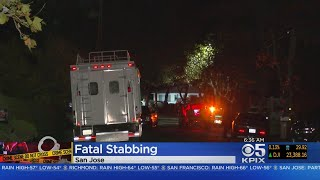 SAN JOSE FATAL STABBING: One man is dead and another in custody after a fatal stabbing in San Jose