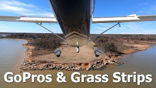 RV Aircraft Video - GoPros & Grass Strips - Fun in a Cessna 172
